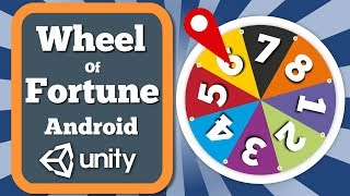 Unity Tutorial How To Create The Wheel Of Fortune Prize Giving Feature For Android Game