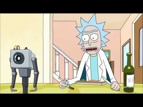 Rick and Morty - Butter Passing Robot - Friendship Denied