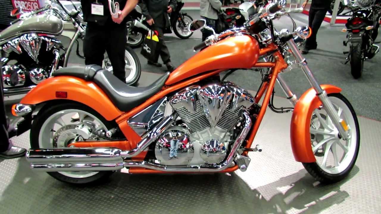 2012 Honda VT1300XA Fury at 2012 Montreal Motorcycle Show ...
