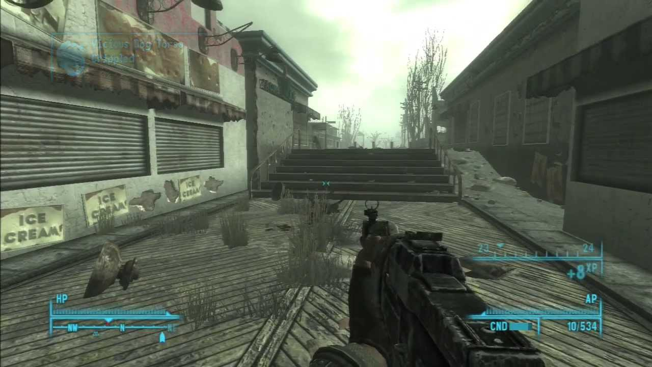 how to get to point lookout fallout 3