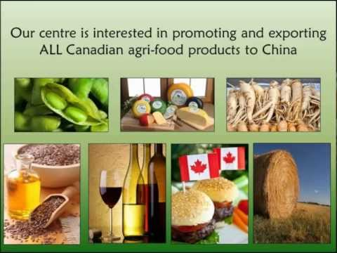 Export, Buy, and Sell Canadian Agri-Food Products to China