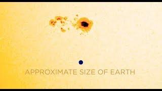 بقعة شمسية تهدد بانقطاع الاتصالات عن الأرض (فيديو)