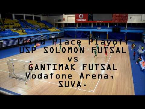 USP Solomon Futsal 0 vs 7 Gantimak Futsal (Third Place Playoff)