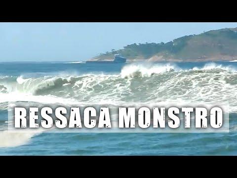 Ressaca monstro: ondas