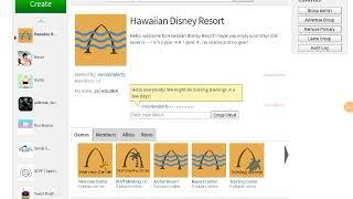 Roblox Hawaiian Disney Resort