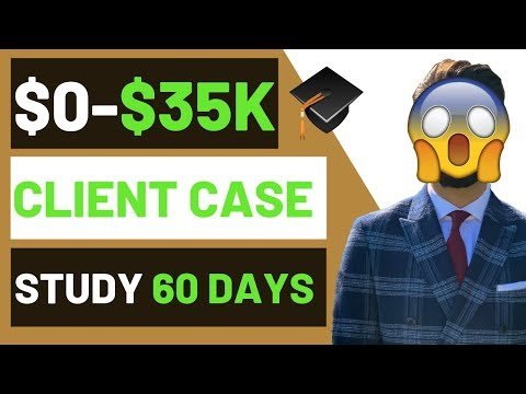 (CASE STUDY) $0 to $35,000 In 60 days Shopify Dropshipping thumbnail