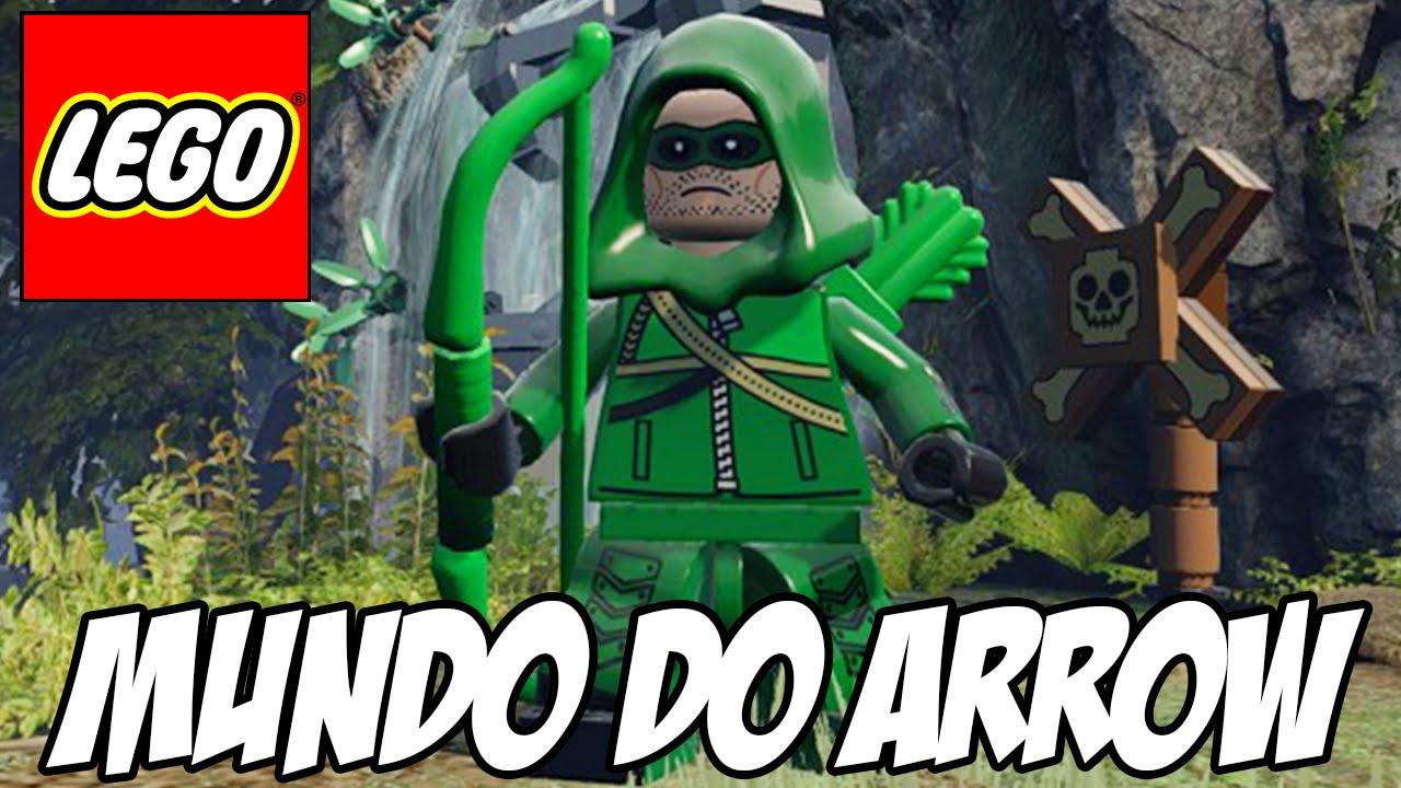 Lego Batman 3 Mundo Da Srie ARROW Do Arqueiro Verde
