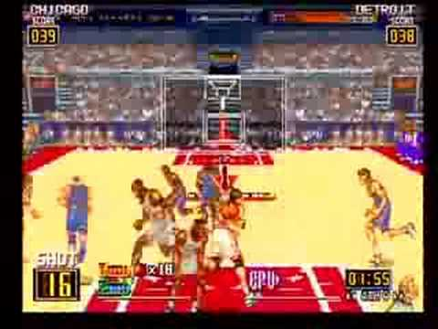 Run and Gun Arcade Basketball Part 2 - NOT MAME - YouTube