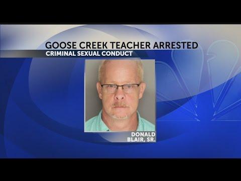 Goose Creek teacher arrested