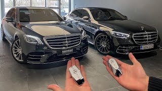 OLD VS NEW S-CLASS! W222 & W223 S-Class Interior Exterior Drive Comparison