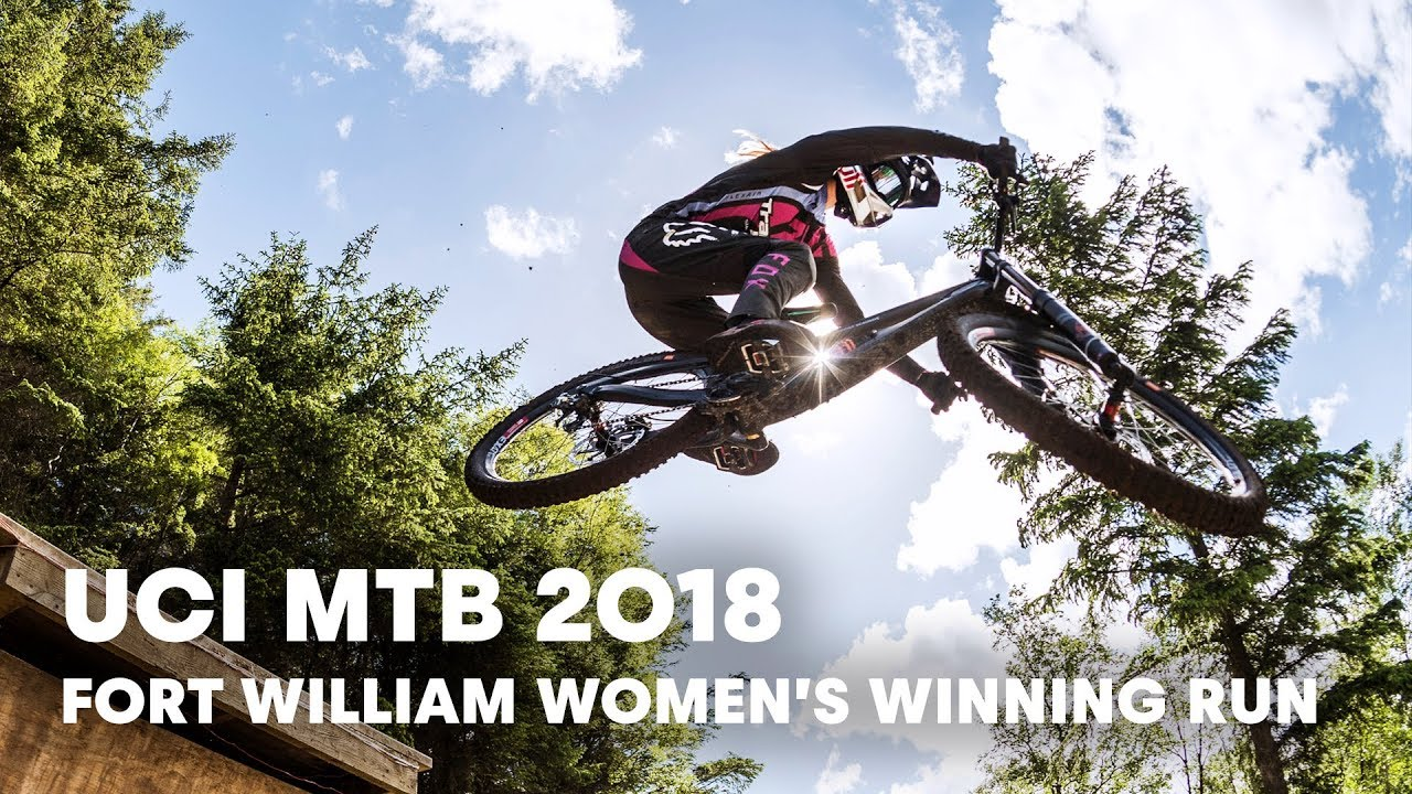8b7cd7813ed Who won the women's downhill final at Fort William? | UCI MTB 2018 ...