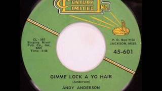 Andy Anderson - Gimmie Lock Of Yo Hair.wmv