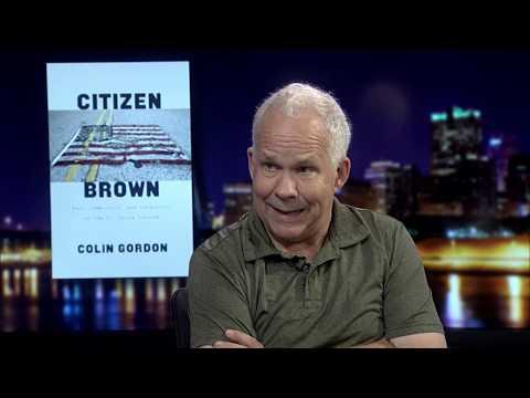 """""""Citizen Brown"""" author Colin Gordon"""