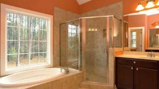 Master Bathroom Style Ideas: Custom Home Master Bath Features