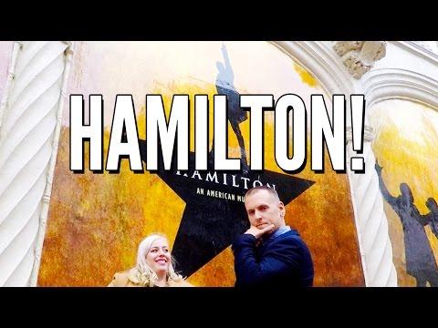 Hamilton Musical - SHN Orpheum Theater in San Francisco // VLOG