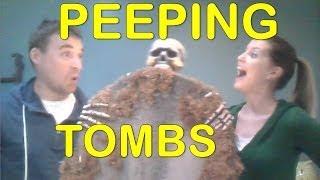 How To Make A Motorized Halloween Tombstone Popper & Peek-a-boo Prop