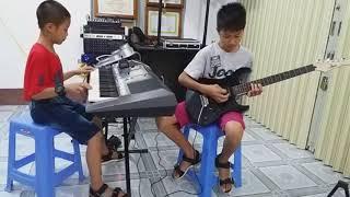 Nửa Vâng Trăng - Hòa Tấu Guitar, Organ - PHONG BẢO, ĐẠI PHONG
