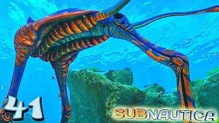 UNE CRÉATURE IMMENSE ! | Subnautica ! #Ep41 thumbnail