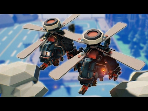 ATTACK Choppers Incoming! the Next ADVANCED WARS - Tiny Metal Gameplay