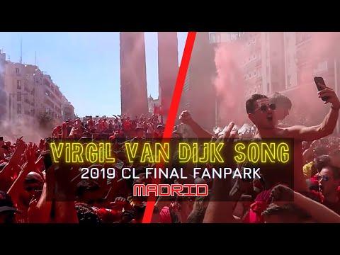 Virgil Van Dijk Song In Madrid!! Jamie Webster, Liverpool Fans And Boss Night!!