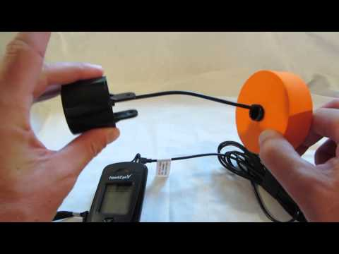 NorCross HawkEye F33P portable fish finder review