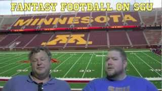 Fantasy Football Preview on SGU (New Live Stream Show Starting Sunday!)