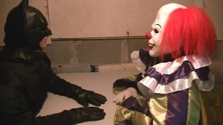 Batman Interrogates Pennywise The Dancing Clown