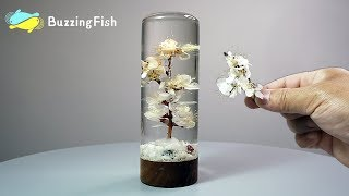 Make a Dried Flowers Resin Paperweight / Resin ART 🌼