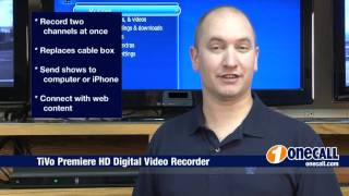 Closer Look: TiVo Premiere HD Digital Video Recorder Overview by OneCall