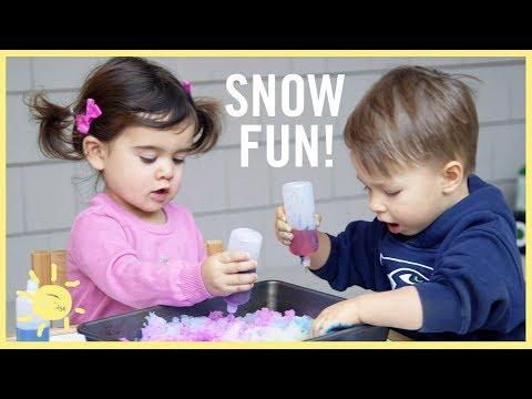 "PLAY | 3 ""Snow"" Activities!"