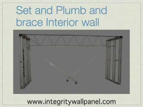 Structural Wall Panel Building Process :: Integrity Wall Panel