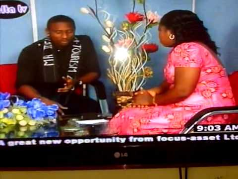 Mr Ideal Tourism Nigeria 2012 Interview with DBS, Asaba