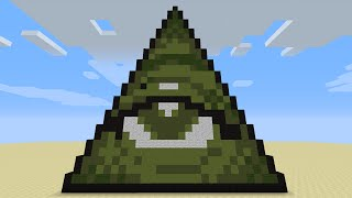 ILLUMINATI MINECRAFT - Only 3 Command Blocks