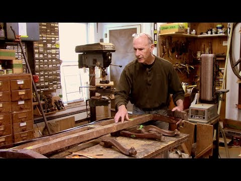 Repairing and Restoring an Antique Settee - Thomas Johnson A