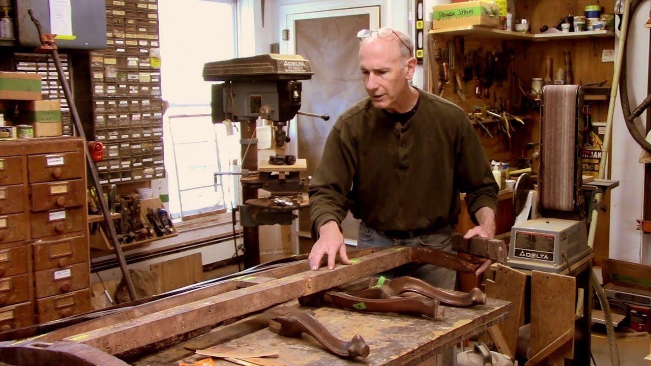 Repairing and Restoring an Antique Settee - Thomas Johnson Antique Furniture Restoration