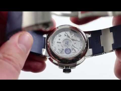 Pre-Owned Ulysse Nardin Marine Chronometer Manufacture Luxury Watch Review