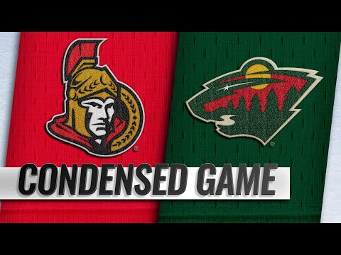 11/21/18 Condensed Game: Senators @ Wild