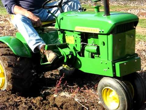 One Of A Kind John Deere 140 Narrow Front End Plowing