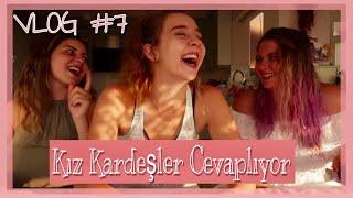 VLOG #8  I Kız Kardeşler Cevaplıyor! I Cunda Adası