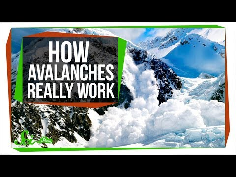 Why Real Avalanches Aren't Like Cartoons