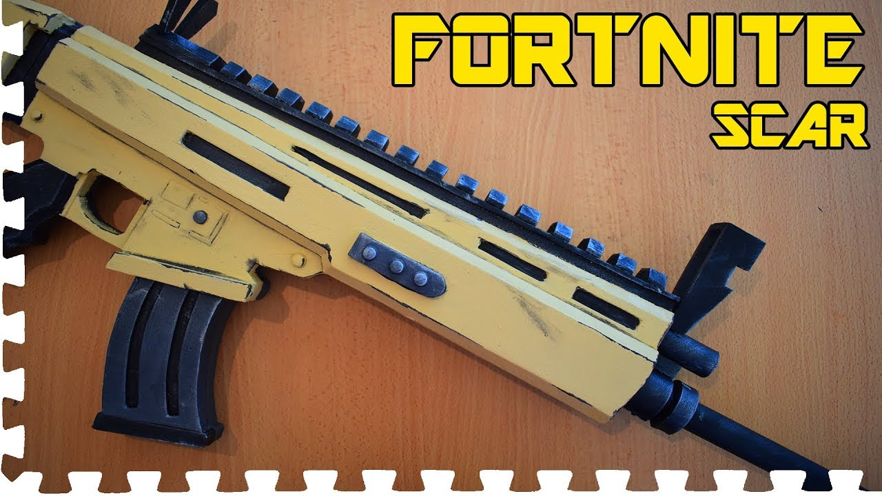 Fortnite Scar Cosplay Prop