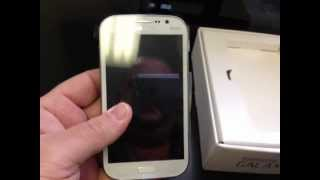 SAMSUNG GALAXY GRAND I9082 Unboxing Video - Phone in Stock at www.welectronics.com