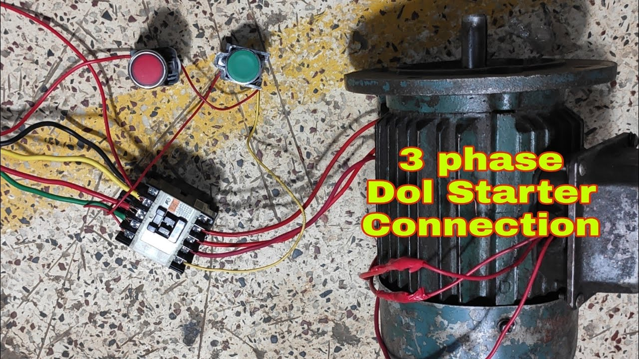 3 Phase Dol Starter Connection 2020 L Three Phase
