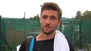 Patrik Rikl po porážce v semifinále Rieter Open Ústí nad Orlicí 2018