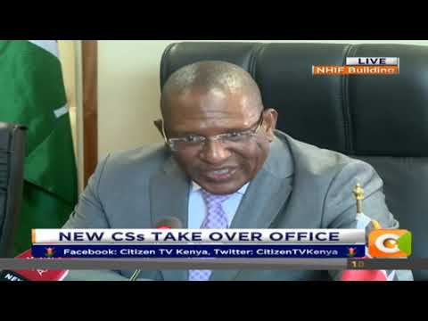 Citizen Extra: Cabinet Secretary Keraiko Tobiko takes Office