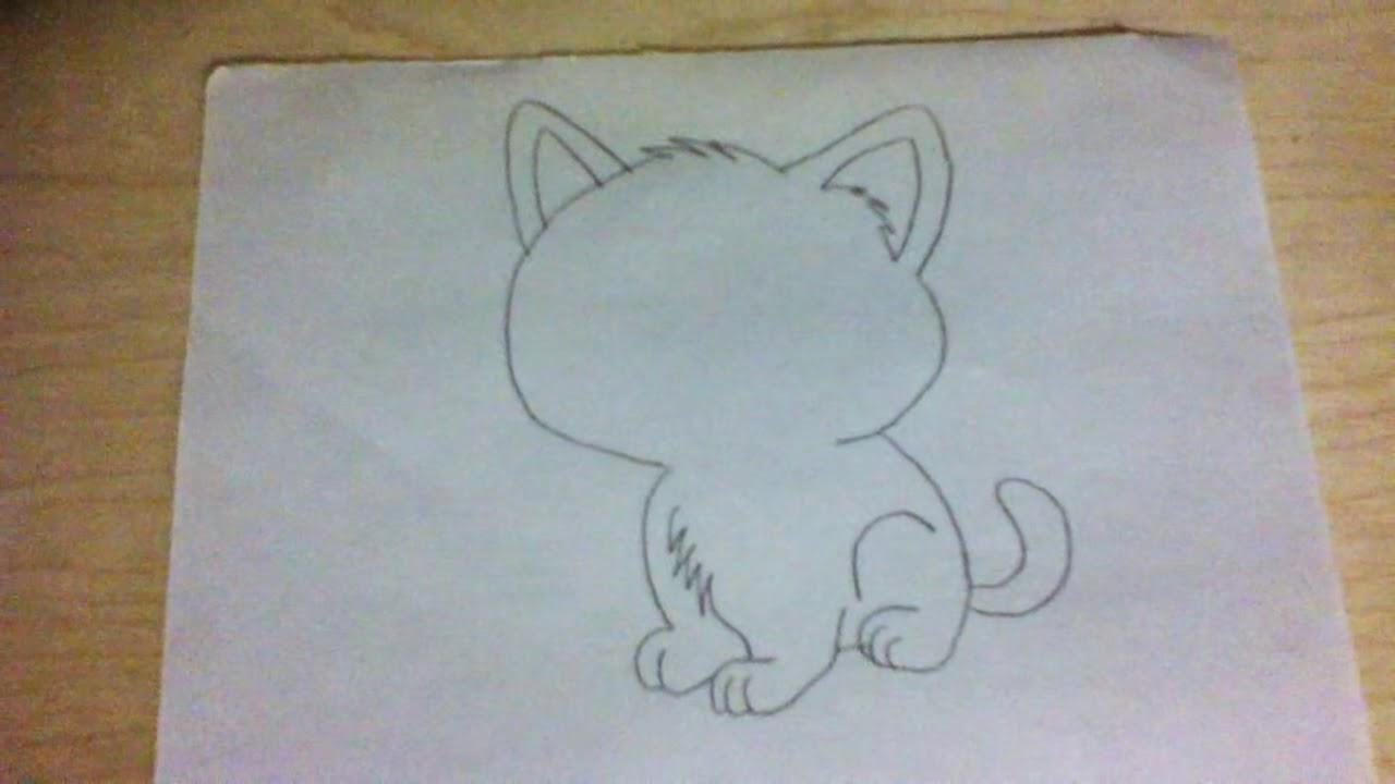 How to Draw Cartoon Cat - VERY EASY | Doovi - photo#16