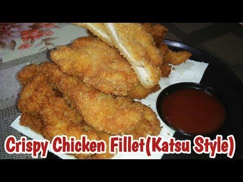Crispy Chicken Fillet//Katsu Style// Quick & Easy