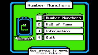 Apple II: MECC - Number Munchers