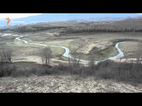 Высыхание Белогорского водохранилища