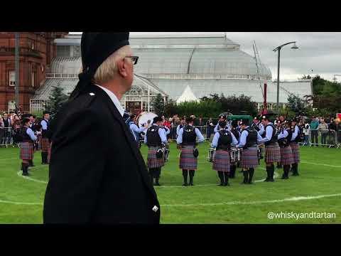 2017 World Pipe Band Championships ~ Gr 2 Midlothian Scottish